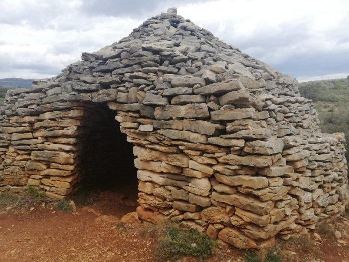 barraca de pedra en sec