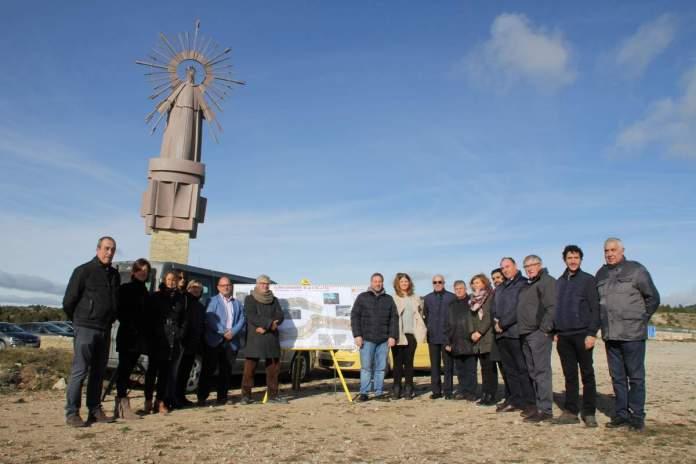 Inauguración mejoras tramo A-1701 entre Mosqueruela y Vilafranca