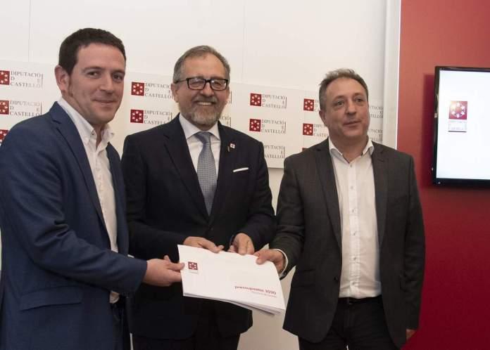 Presentació dels pressupostos 2020 de la Diputació de Castelló