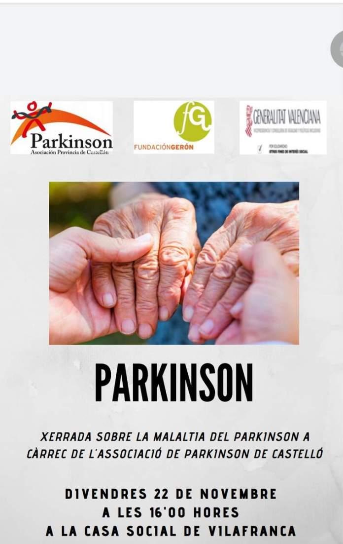 Xerrada sobre Parkinson a Vilafranca