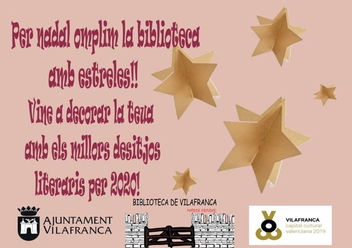 decoració nadalenca biblioteca vilafranca