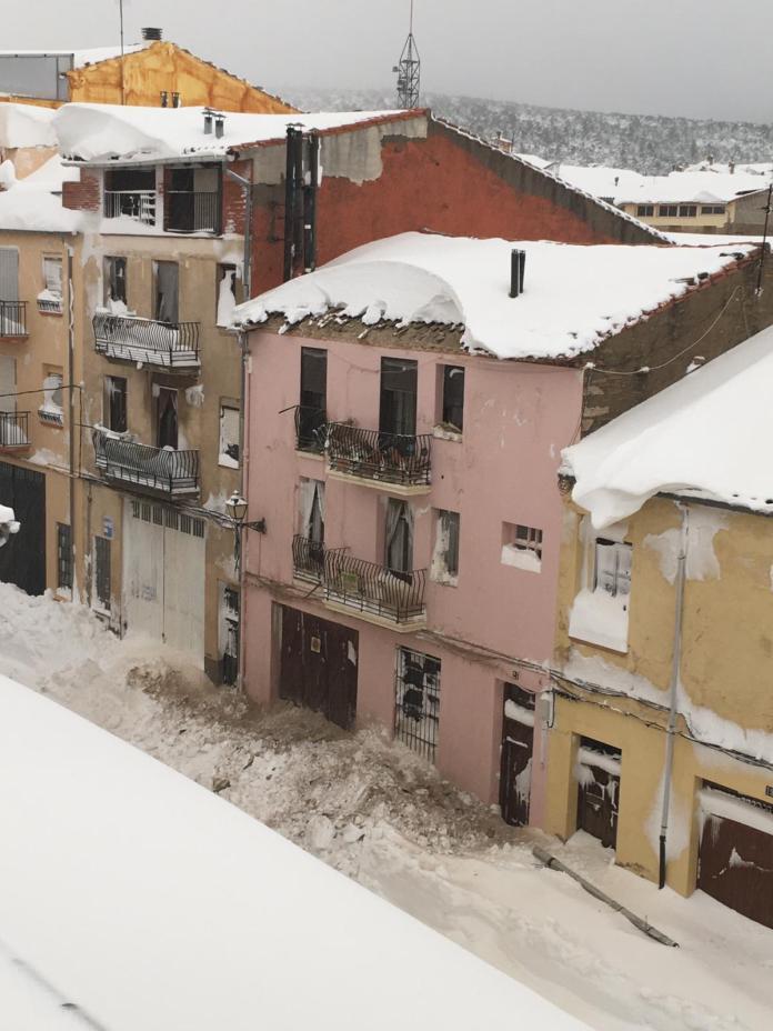Caiguda d'un rafel a Vilafranca