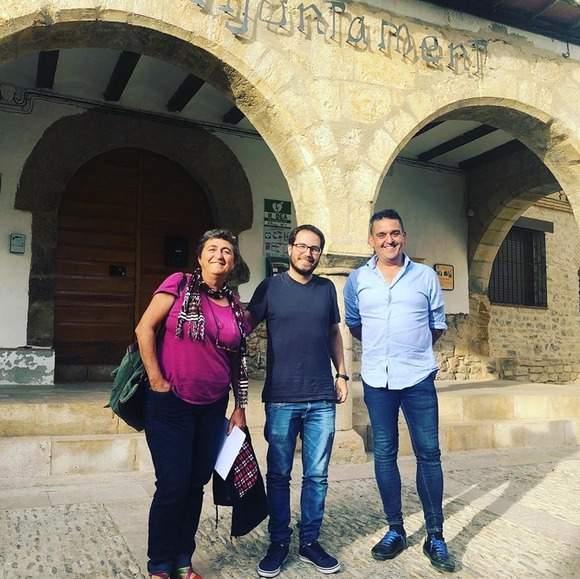 Reunió de Carles Mulet amb el govern municipal de Villores