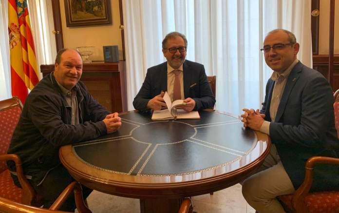 Reunión de Olocau con la Diputación de Castellón