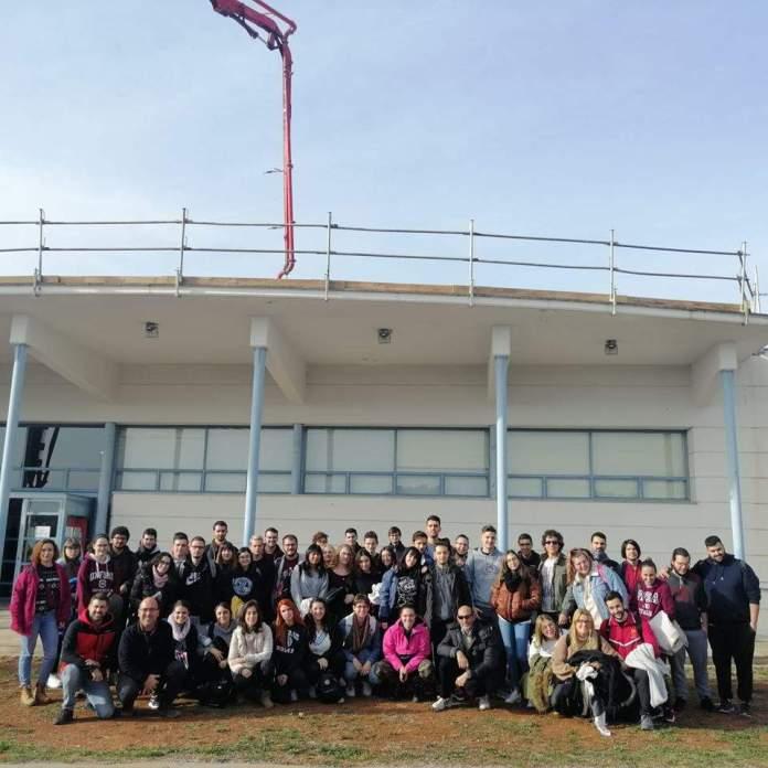Universitaris murcials al Museu de la Valltorta