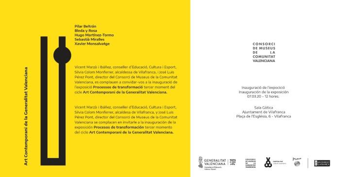 Exposició Processos de transformació a Vilafranca