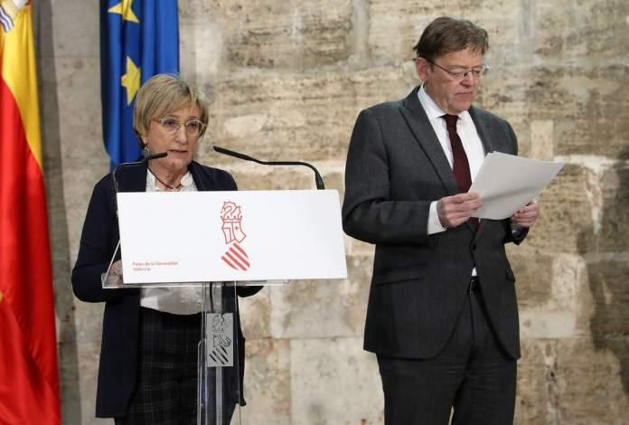 Roda de premsa de la Generalitat Valenciana pel coronavirus