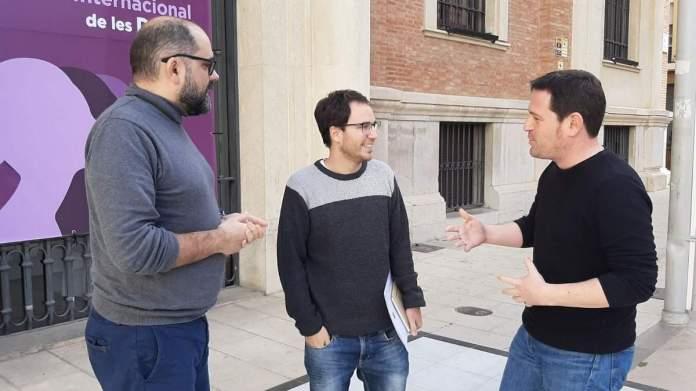 Garcia i Ferrando es reuneixen amb l'alcalde de Villores