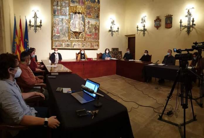 Ple de l'Ajuntament de Vilafranca