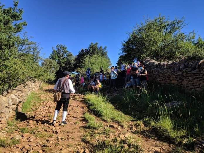 Ruta teatralitzada de la pedra en sec a Vilafranca
