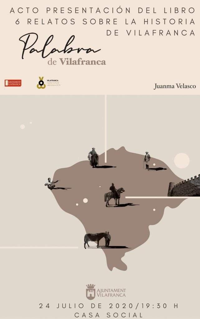 """Cartell presentació """"6 relatos sobre la historia de Vilafranca"""""""