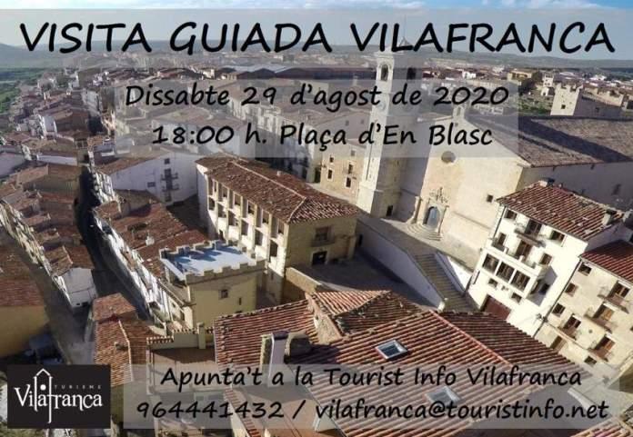 Visites al nucli històric de Vilafranca