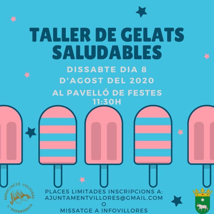 Informació sobre el taller de gelats saludables