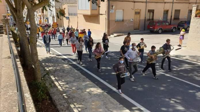 Correllengua a Vilafranca