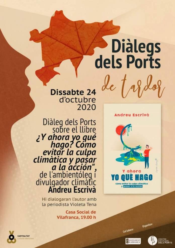 Cartell Diàlegs dels Ports de tardor a Vilafranca