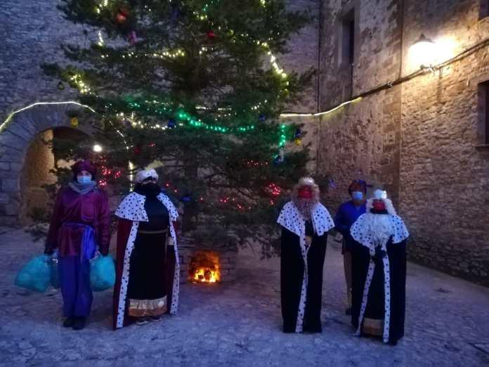 Los Reyes Magos en La Iglesuela del Cid