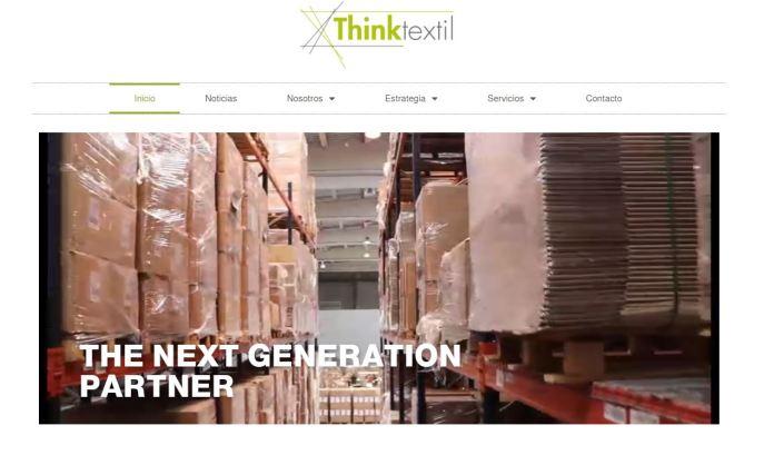 Web de Think Textil