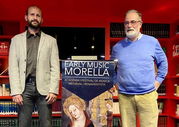 Robert Cases i Gonzalo del Puerto a l'Institut Cervantes de Brussel·les