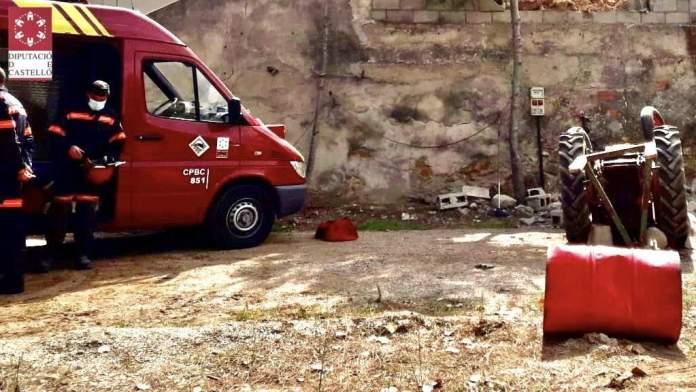 Accident de tractor a Albocàsser