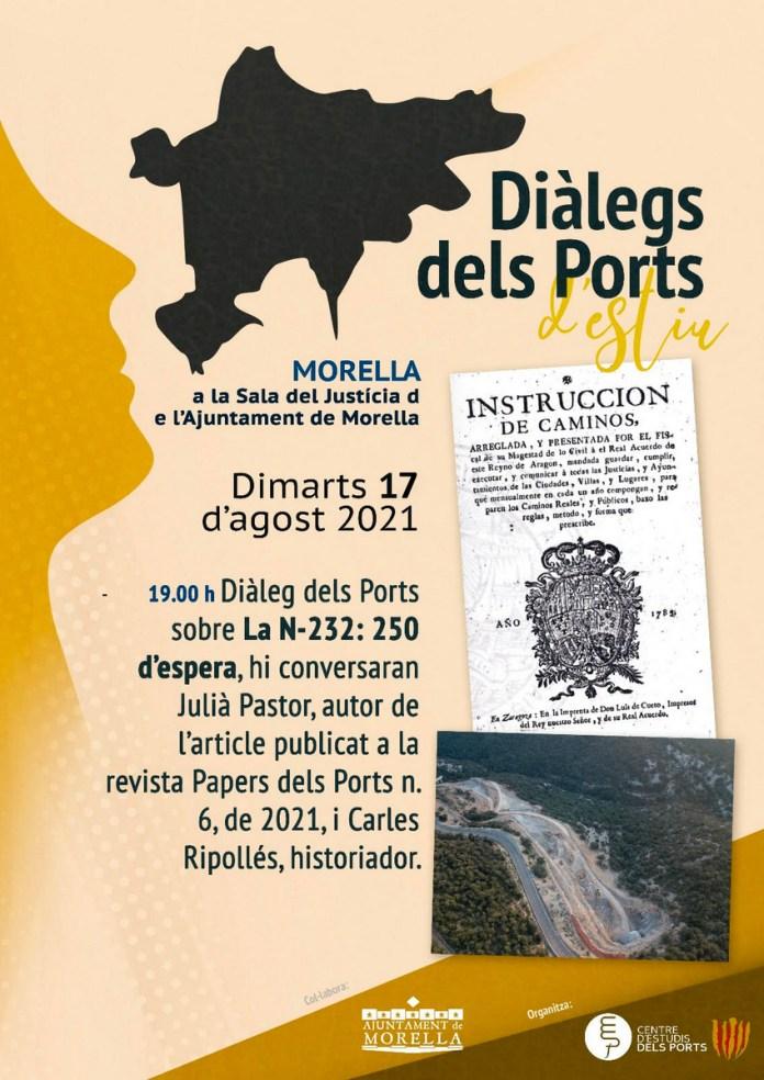 Cartell Diàlegs dels Ports N-232: 250 anys d'espera