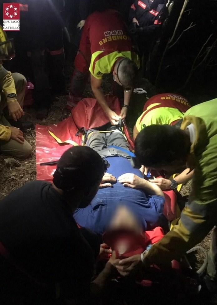 Rescat de boletaires perduts al terme municipal de Vilafranca. Foto: SIAB