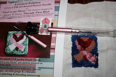 Punch needle design