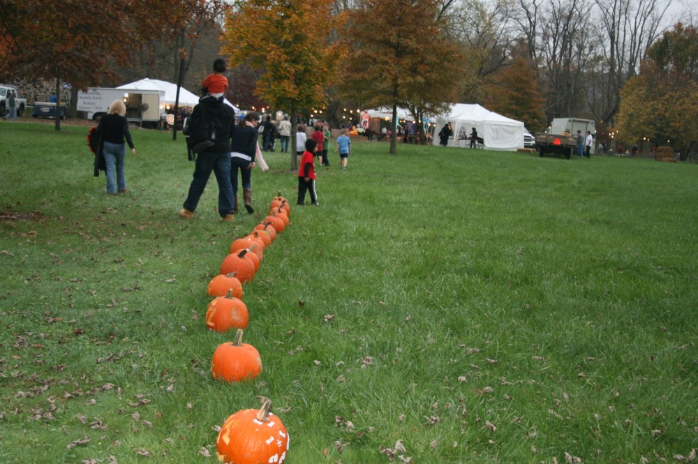 Chadds Ford Great Pumpkin Carve event (2/6)