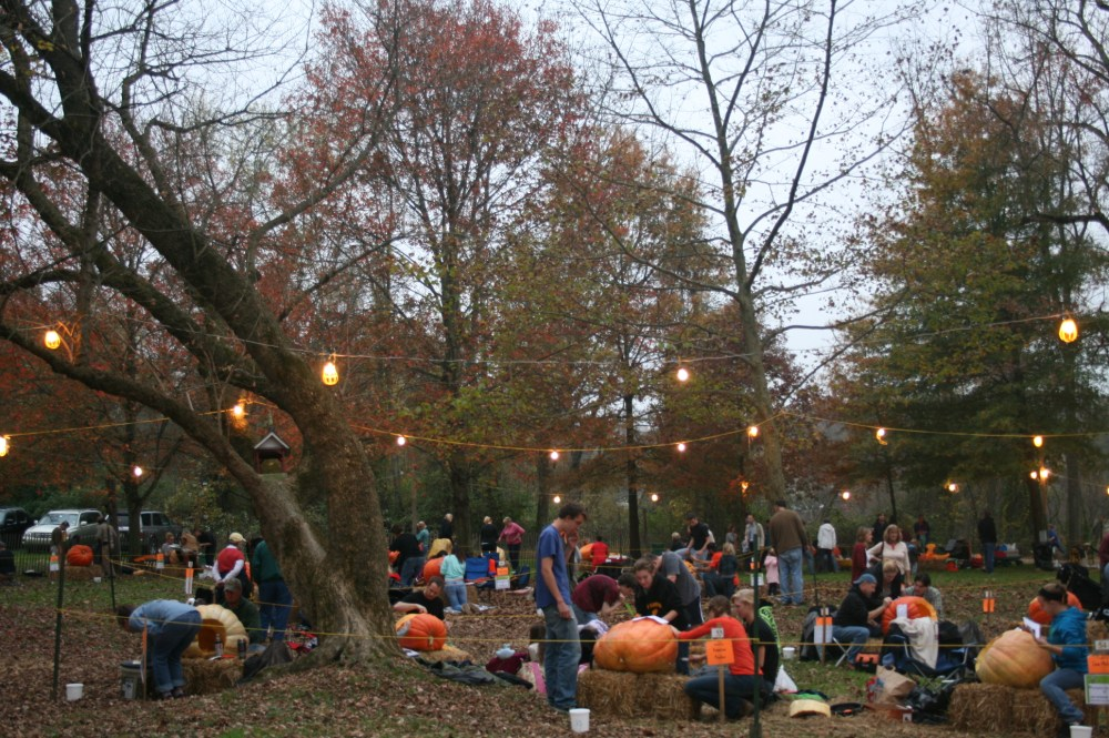 Chadds Ford Great Pumpkin Carve event (3/6)