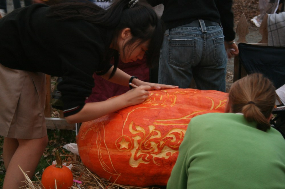 Chadds Ford Great Pumpkin Carve event (5/6)