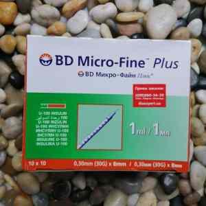 Шприцы инсулиновые БД МИкро-Файн
