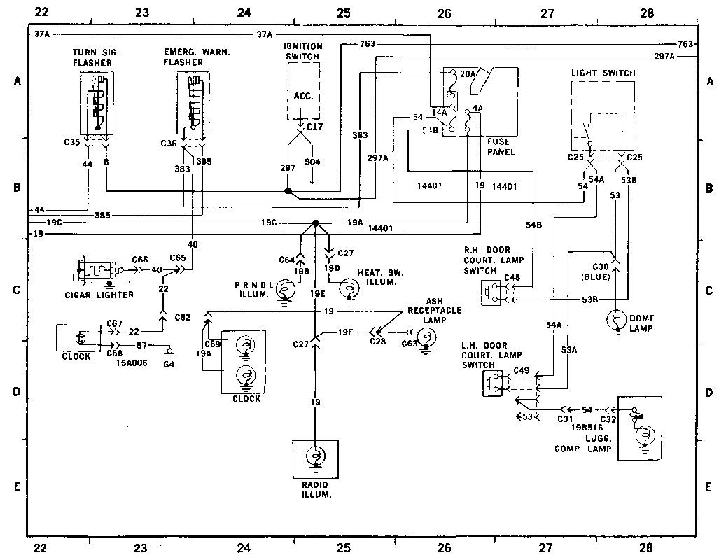 Ford Ford Maverick Ano Diag4 Diagramas De Autos