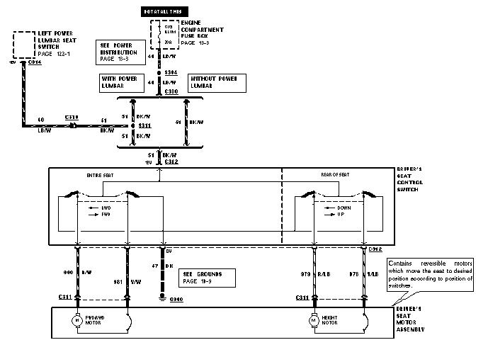 1995 Mustang Power Seat Diagram