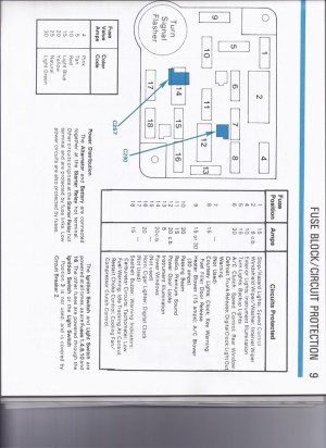 1986 Mustang SVO Fuse Block Diagram Engine Bay