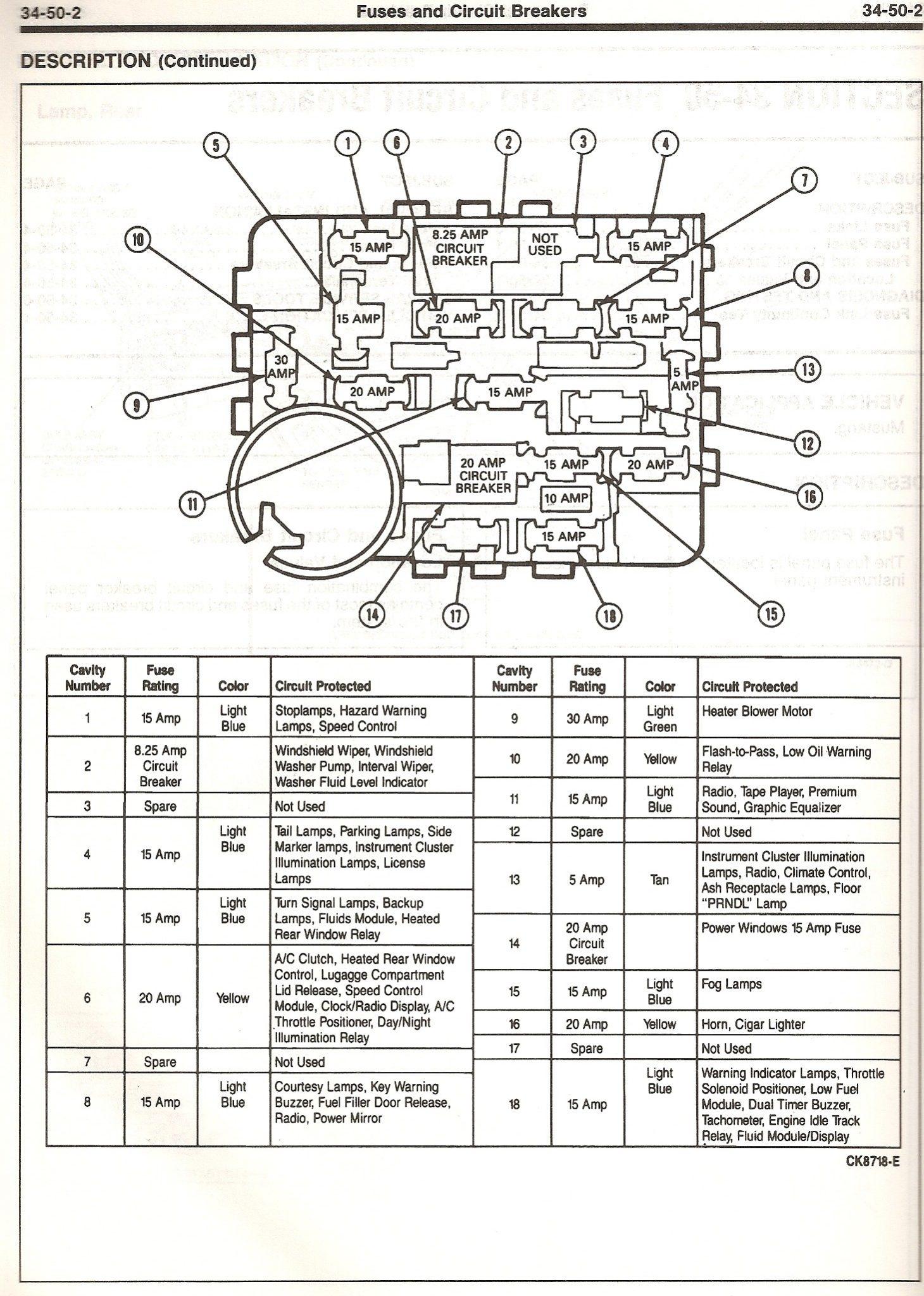 93 mustang fuse diagram wiring diagram rh s44 com 1 de