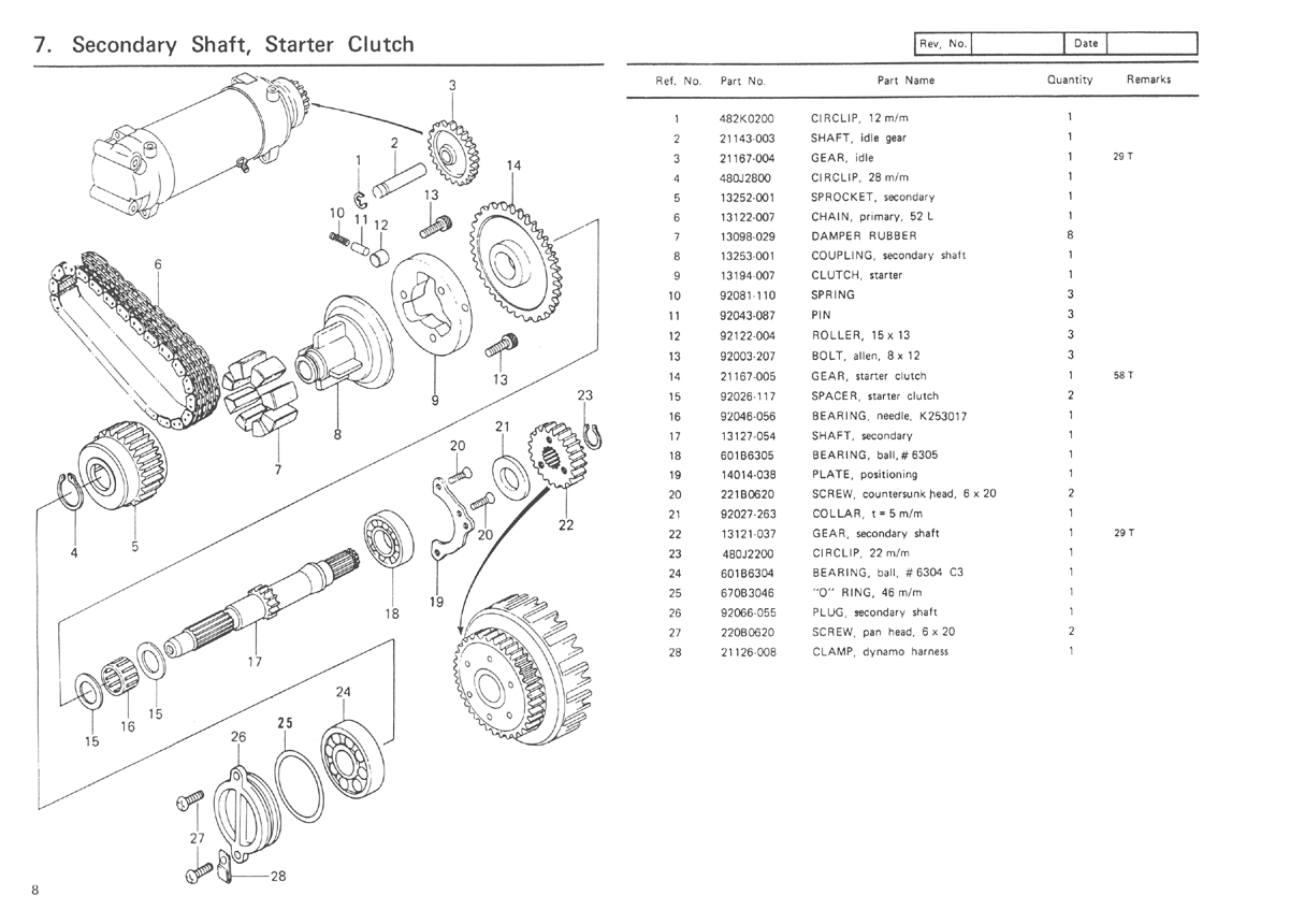1978 Kz650 Wiring Diagram Schematic | Wiring Liry on