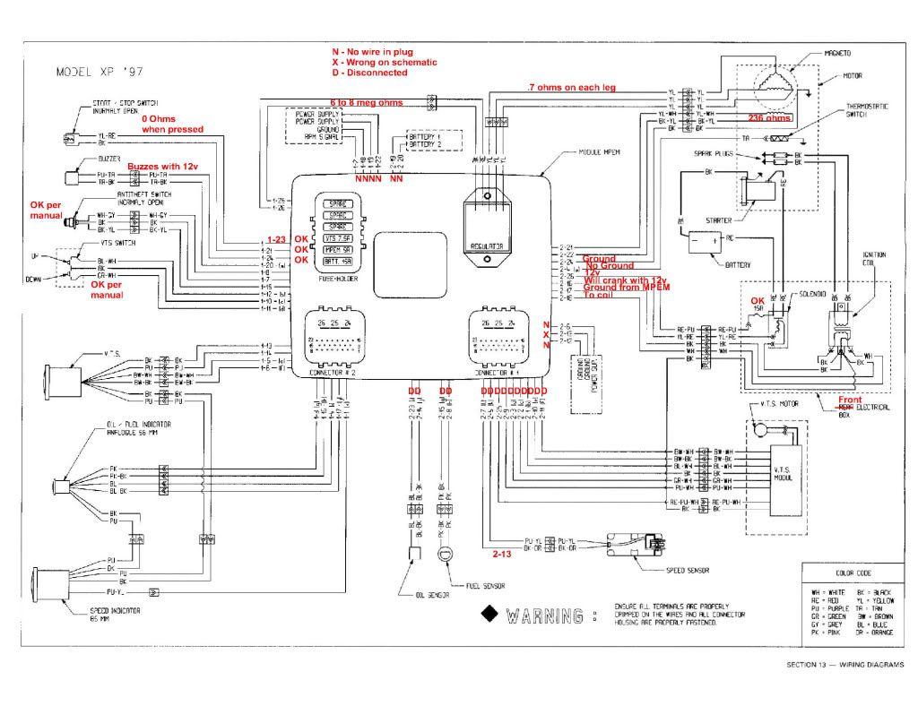 Seadoo Xp Vts Wiring Diagram