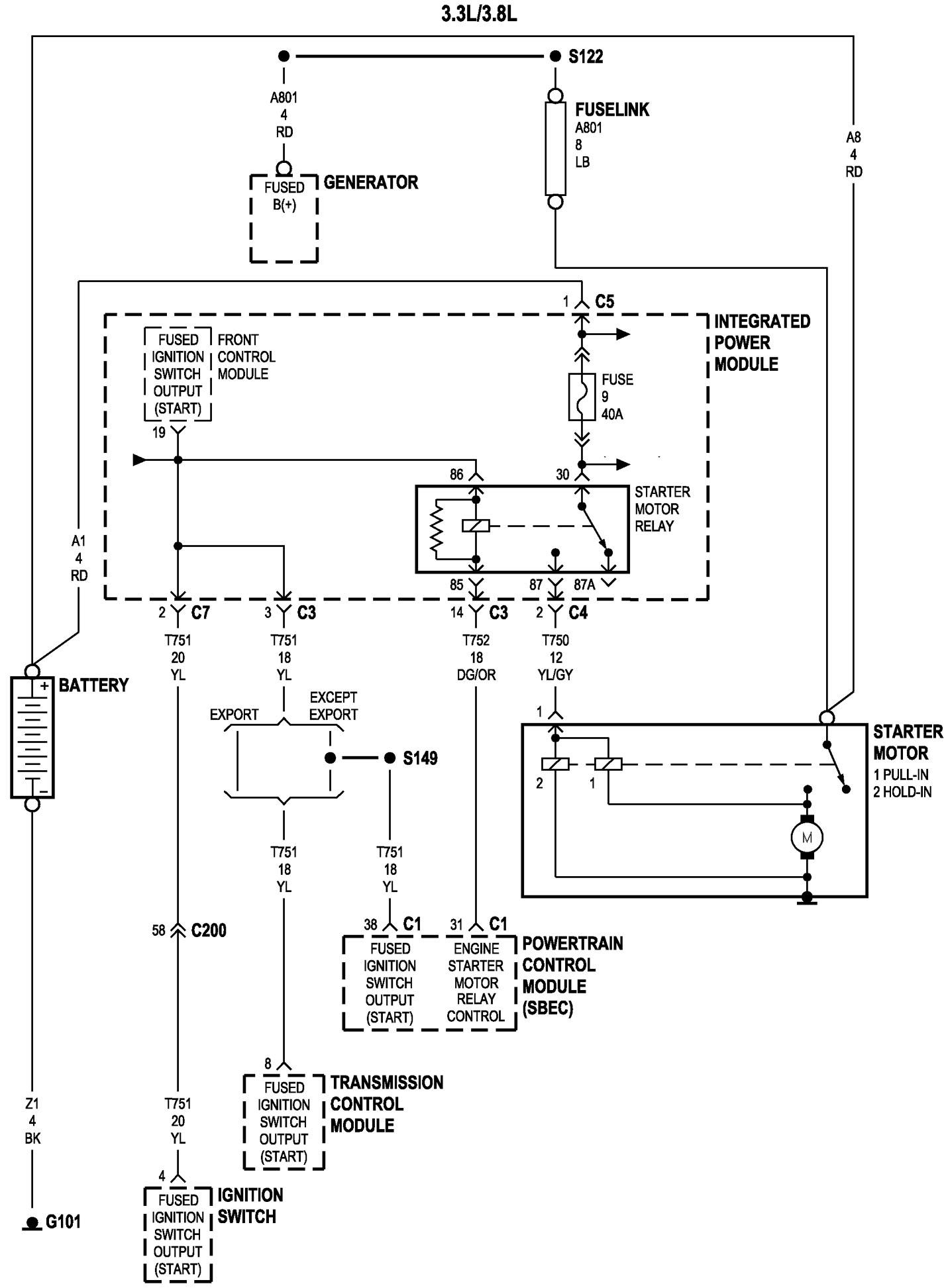 Dodge Caravan 3 3 L Engine Diagram