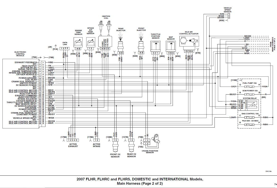 Road King Flhrs Wiring Diagram
