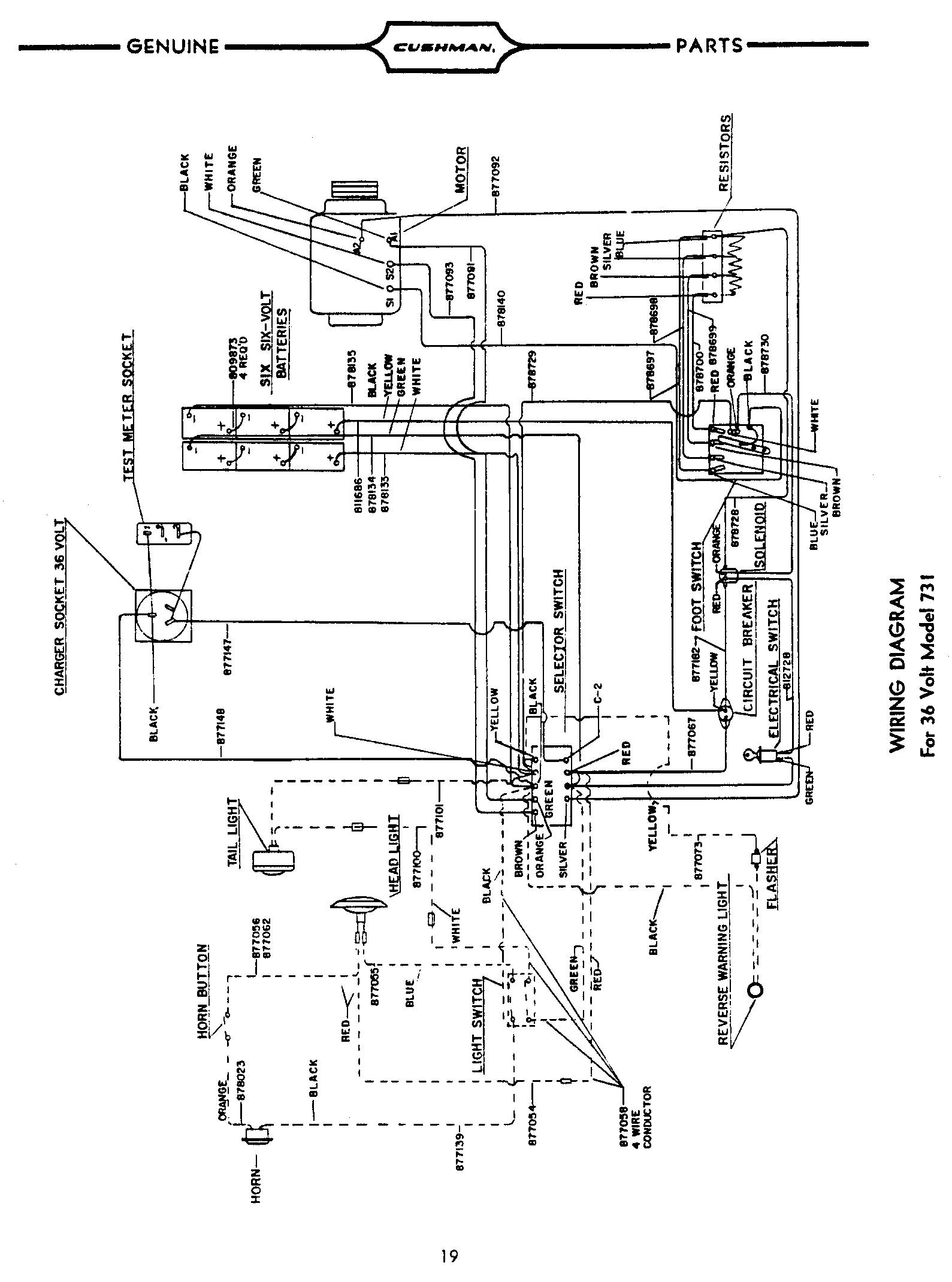 36 Volt Ez Go St Golf Cart Wiring Diagram