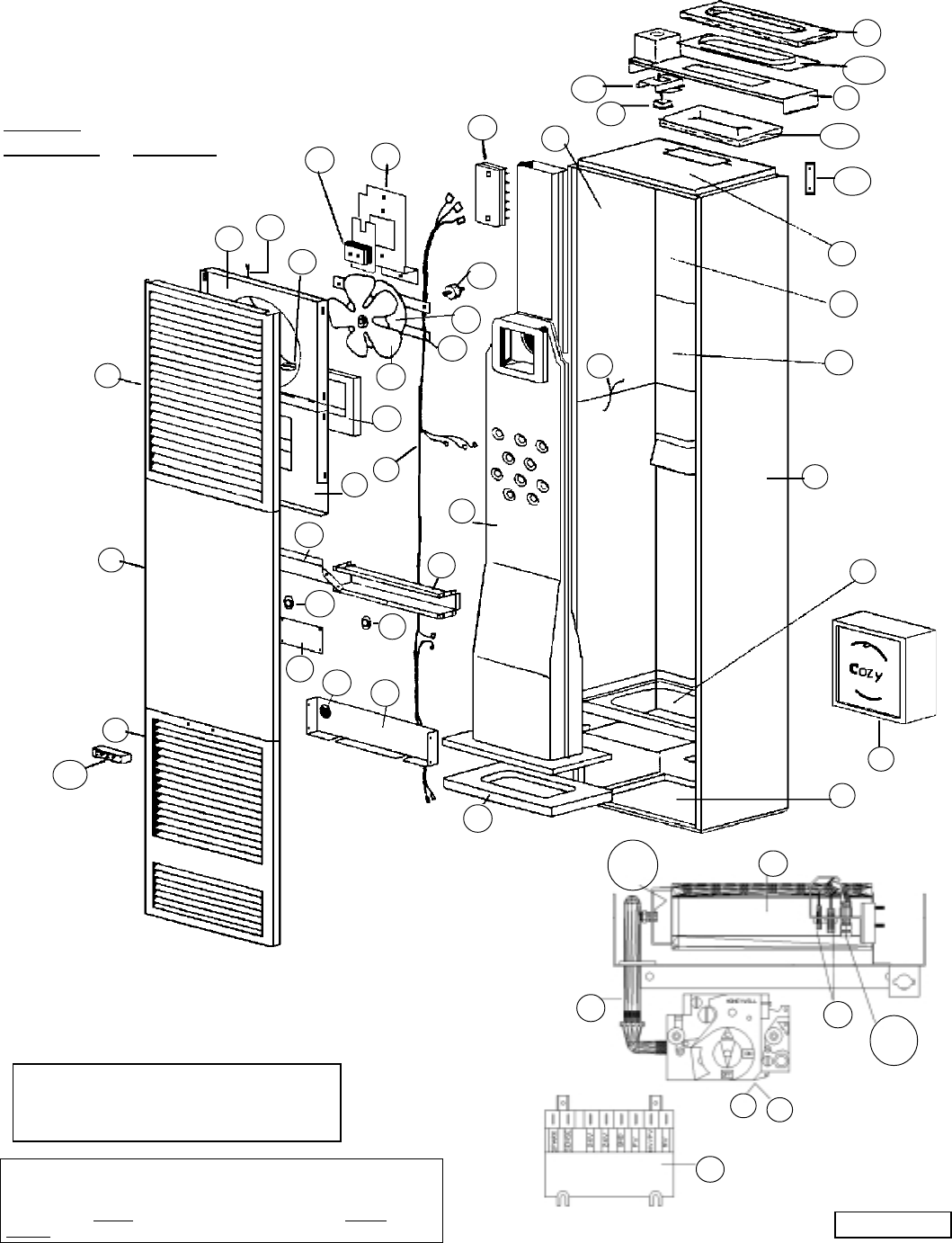 Diagram Williams Wall Furnace Wiring Diagram Electric