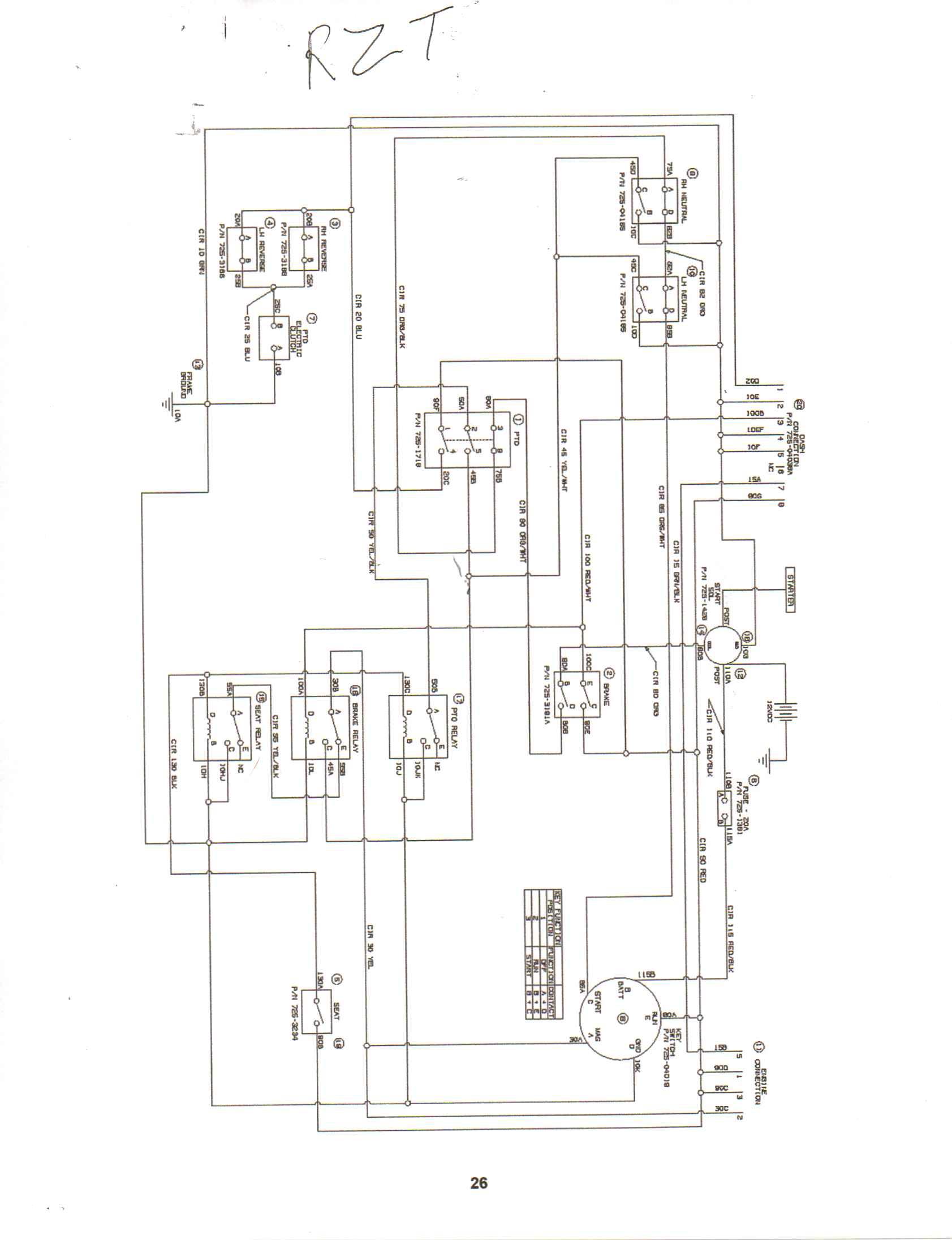 Cub Cadet Lt Wiring Diagram