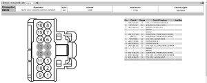 Donnelly Rear View Mirror Wiring Diagram