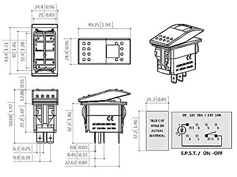8 pin wiring diagram switch  1965 corvette headlight wire