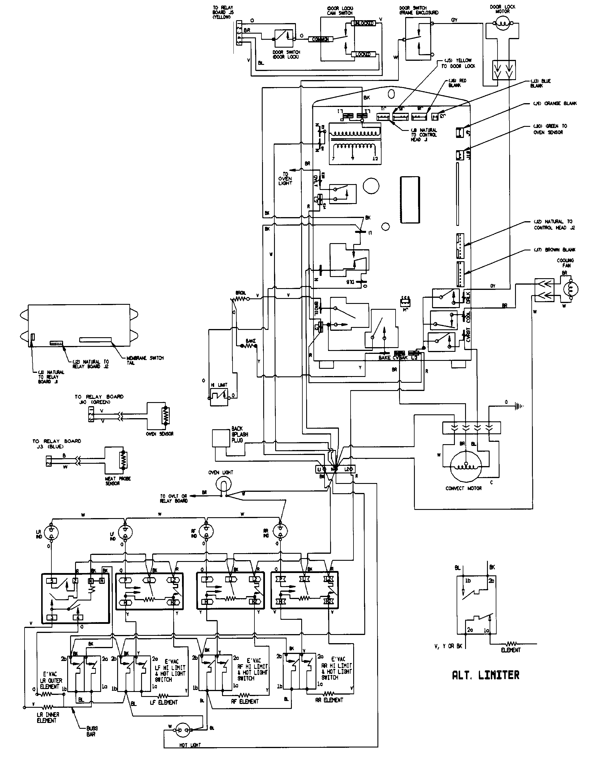 Frigidaire Electric Range Stove Oven Timer Wiring Diagram