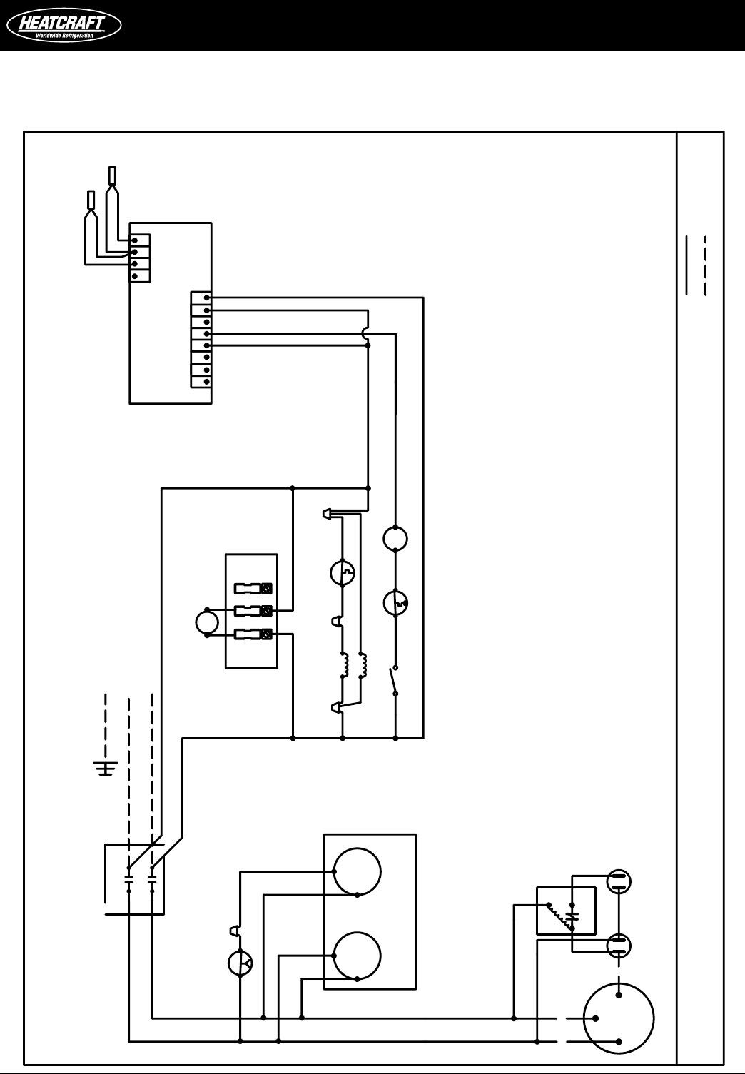 Heatcraft Walk In Freezer Wiring Diagram