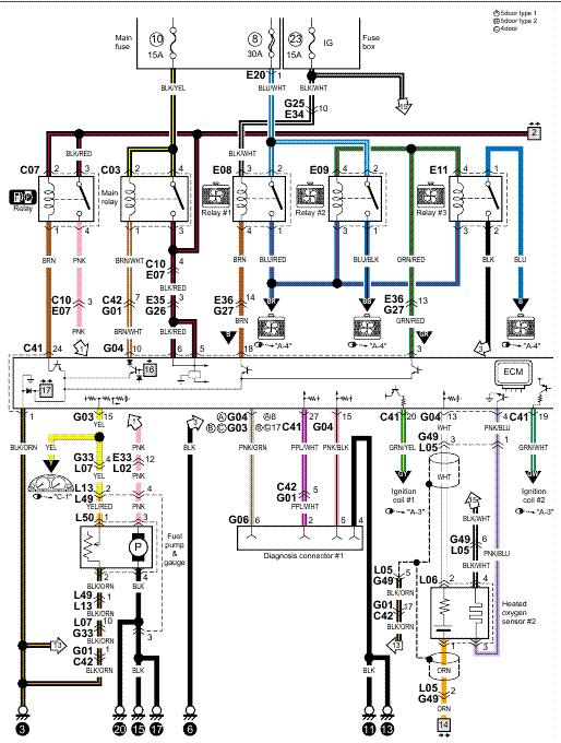 V Twin Honda Schematic