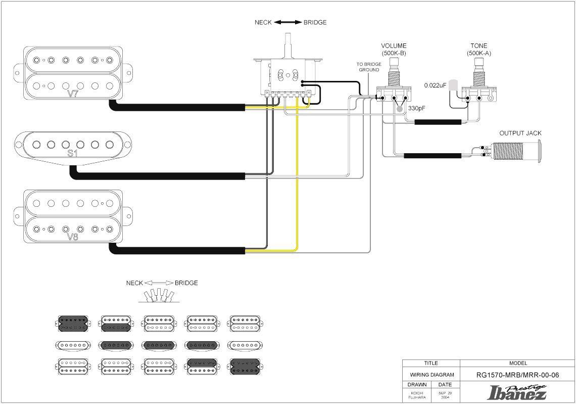 Ibanez Wiring Diagram Artist