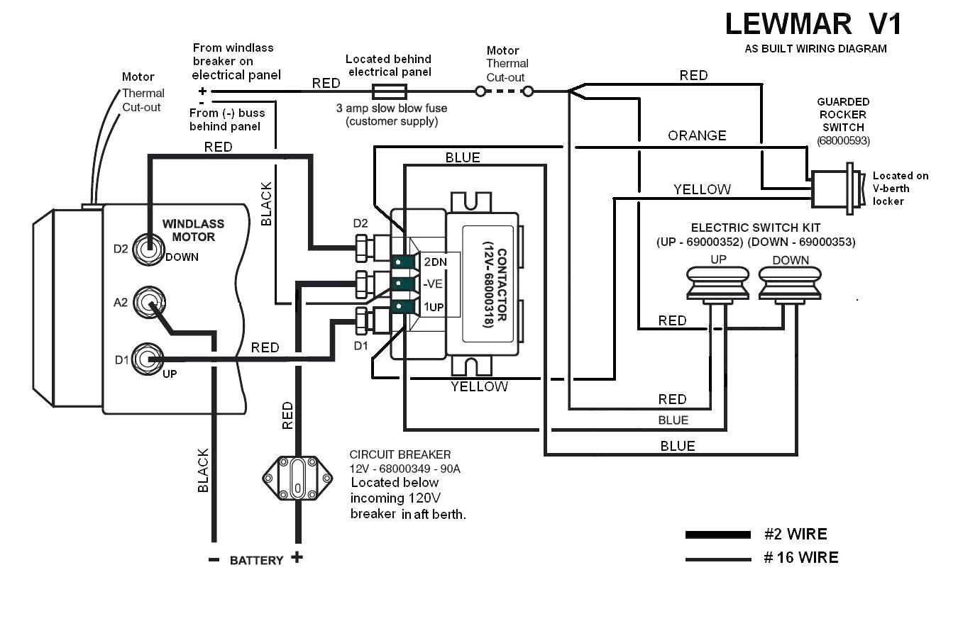 Ideal Windlass Wiring Diagram