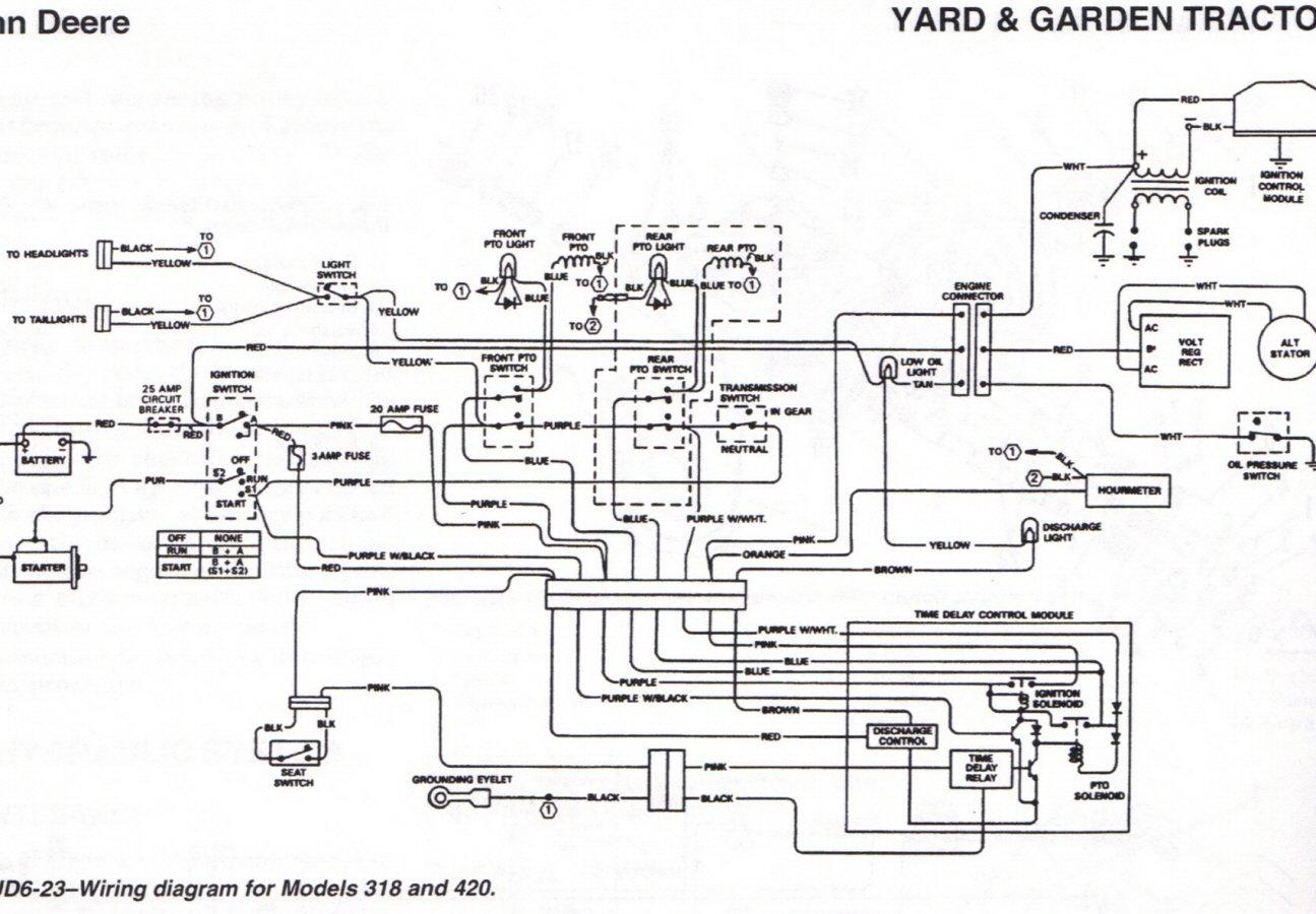 John Deere Lt160 Mower Start Side Wiring Diagram