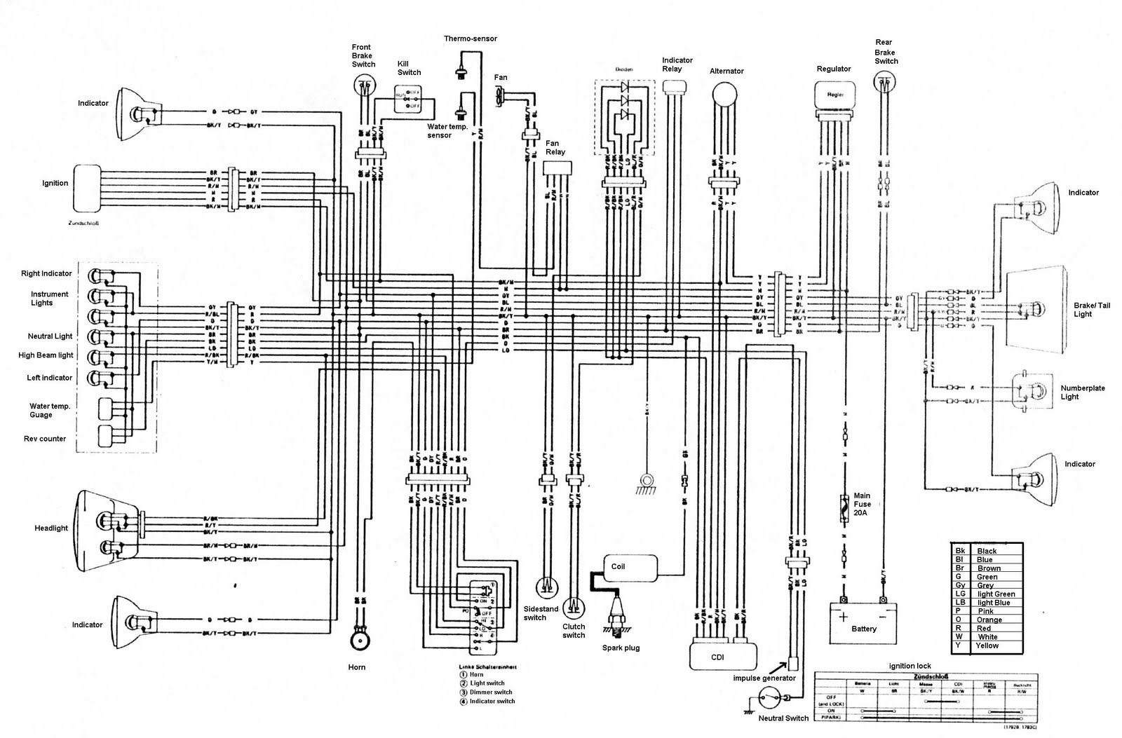 Klf185a Wiring Diagram